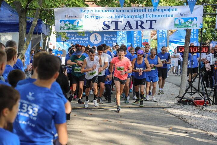 Half Marathon Charity run Berehove