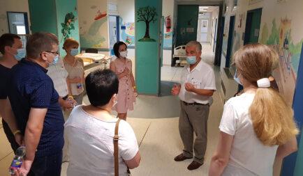 Orvoscsoport Ukrajnából – koronavírus elleni küzedelem