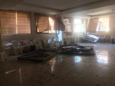 Több mint 10 család házának újjáépítését támogatjuk Bejrútban