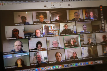 Nemzetközi online fórumot szerveztünk