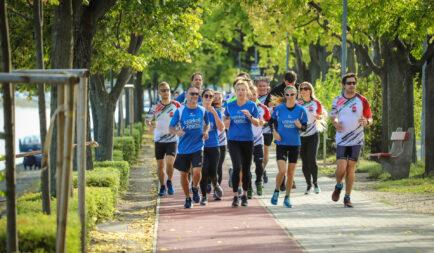 100 Kárpátaljai gyerek futott együtt Kokóval – virtuálisan