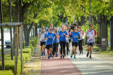 Running together to raise attention to Transcarpathian people in need