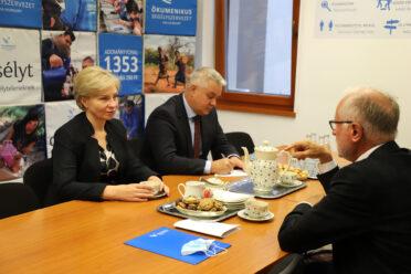 Köszönet a Segélyszervezet ukrajnai szerepvállalásáért