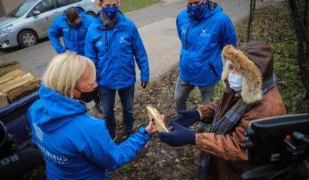 Tűzifa segélyakció: több száz rászoruló családot támogat a Segélyszervezet
