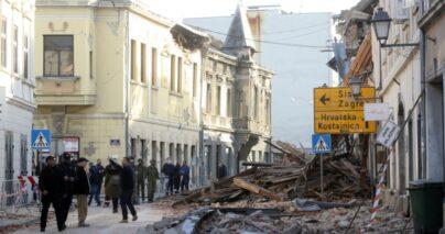 Segítség a horvát földrengés károsultjainak