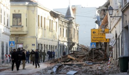 Help the victims of earthquake in Croatia