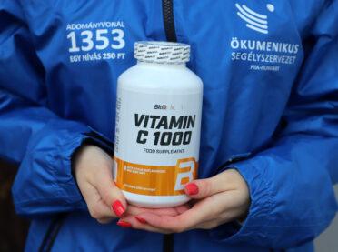 BioTechUSA vitamin adomány