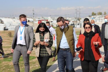 State Secretary for the Hungary Helps Program visits Iraq