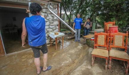 2 millió forintos segélyakcióval támogatja a Segélyszervezet a szilvásváradi és nagyvisnyói villámárvíz károsultjait