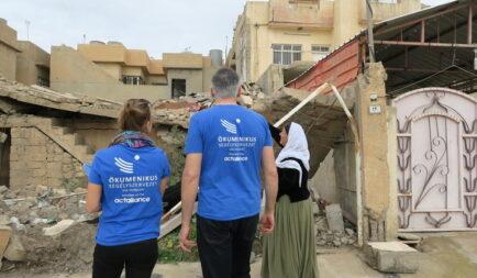 Folytatódik a Segélyszervezet visszatelepülő keresztényeket segítő programja Irakban