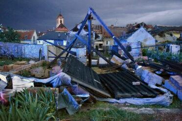 Solidarity and fundraising: tornado hit Czech Republic