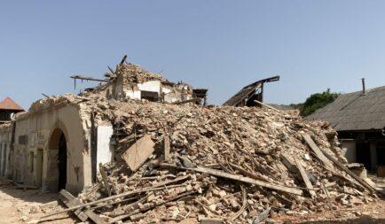 Romjaiból építünk újjá egy horvátországi földrengésben megrongálódott templomot