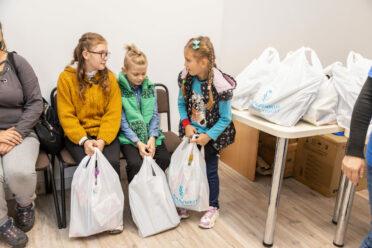 School equipment for children in need