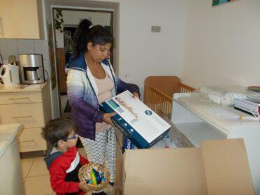 Medical equipment donation for Sure Start Children's Homes